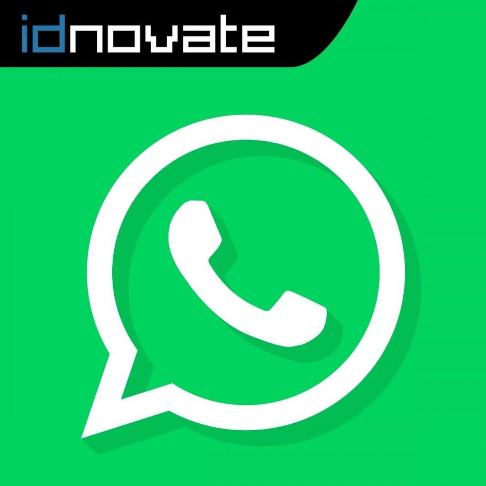 module - Asistencia & Chat online - WhatsApp - Chat con clientes - WhatsApp para Negocios - 1