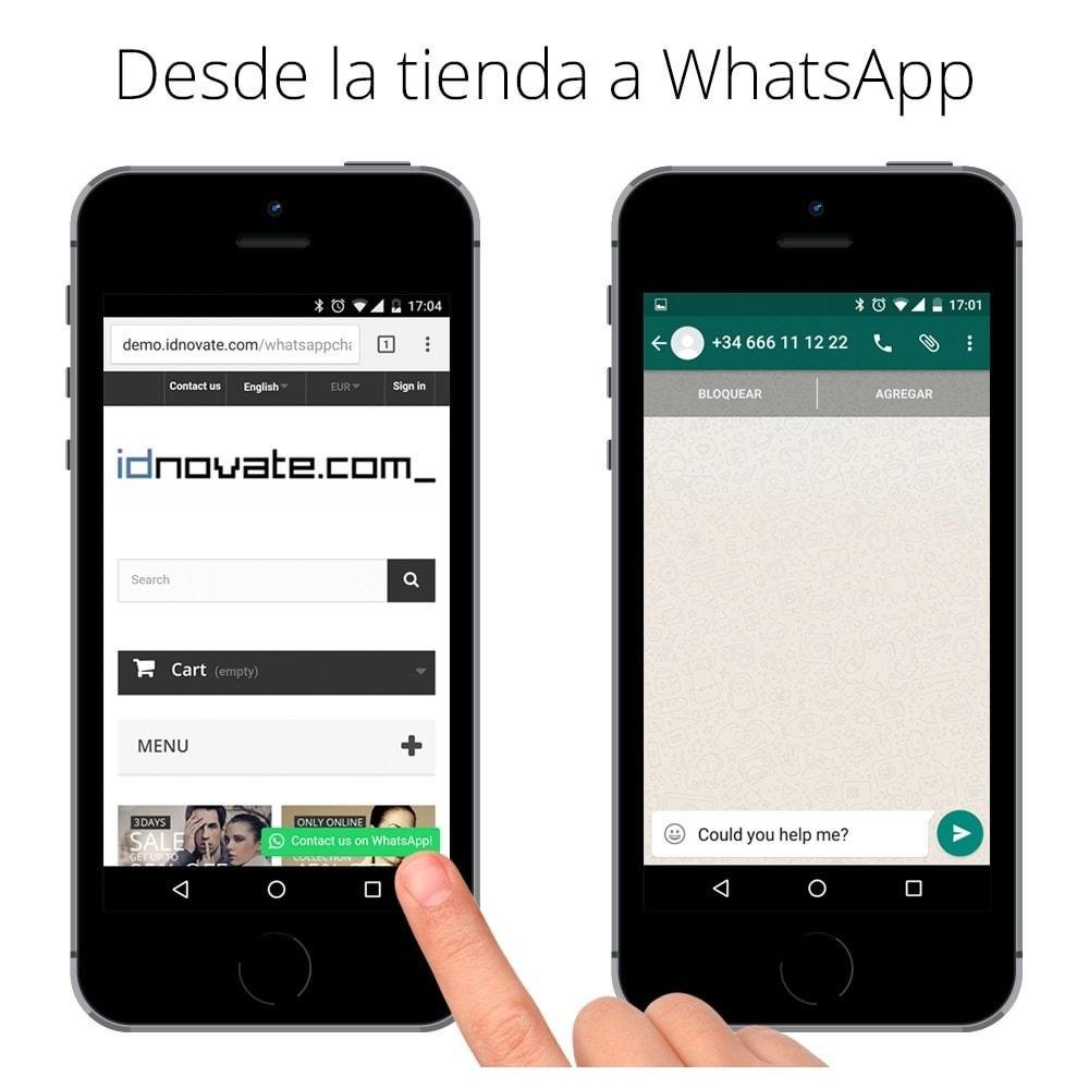 module - Asistencia & Chat online - WhatsApp - Chat con clientes - WhatsApp para Negocios - 4