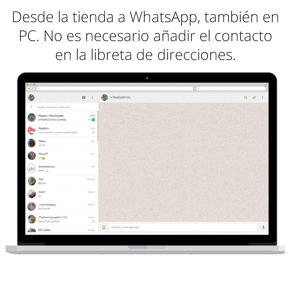 module - Asistencia & Chat online - WhatsApp - Chat con clientes - WhatsApp para Negocios - 5