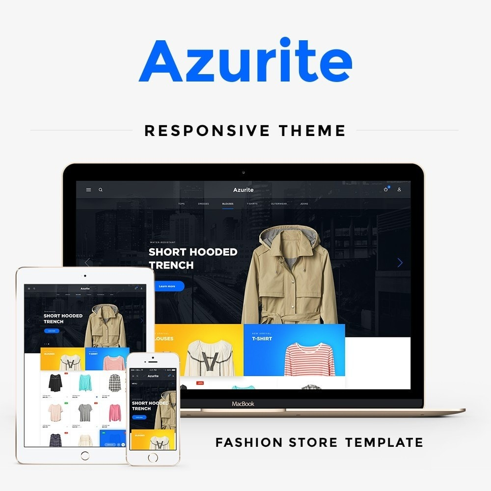 theme - Mode & Schuhe - Azurite Fashion Store - 1