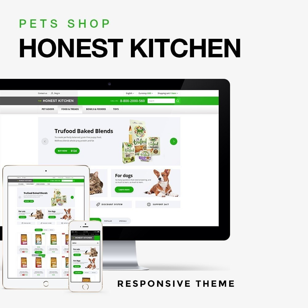theme - Animaux - The Honest Kitchen - 1
