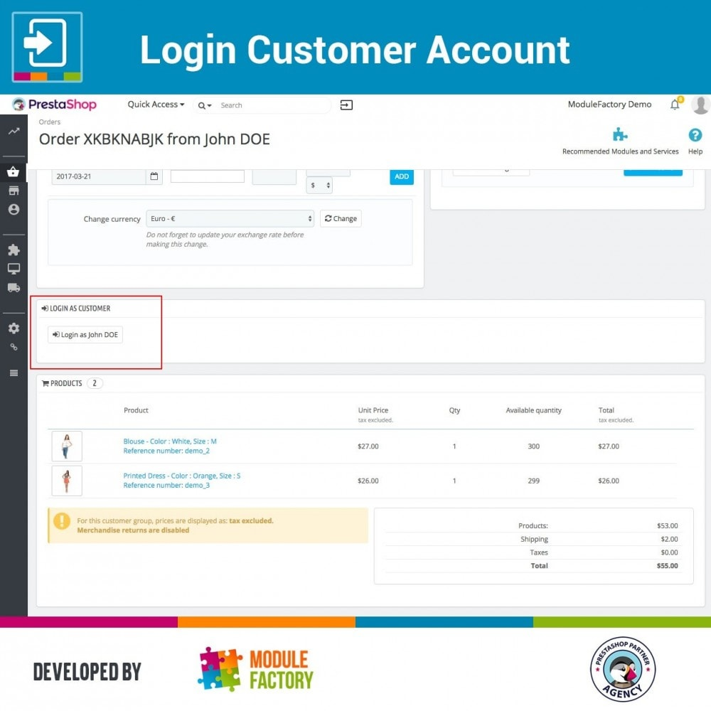 module - Servizio post-vendita - Login Customer Account - 4