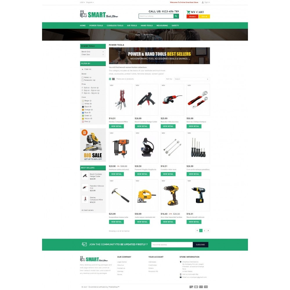theme - Automotive & Cars - Smart Tools Store - 3