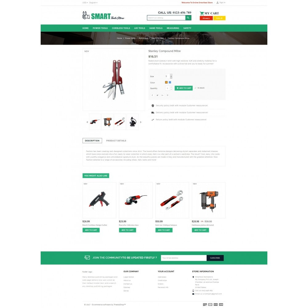 theme - Automotive & Cars - Smart Tools Store - 5