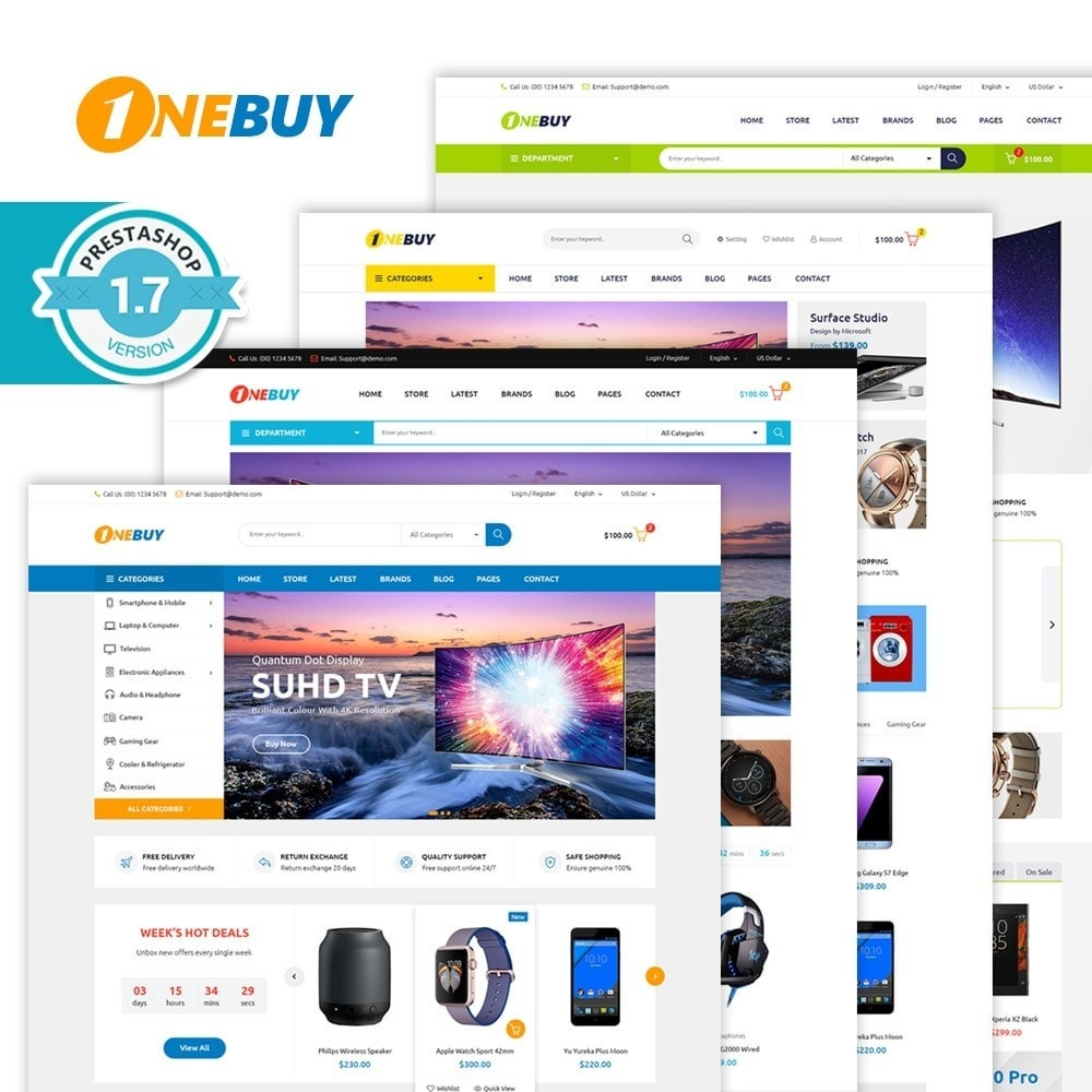 theme - Electrónica e High Tech - JMS OneBuy 1.7 - 1