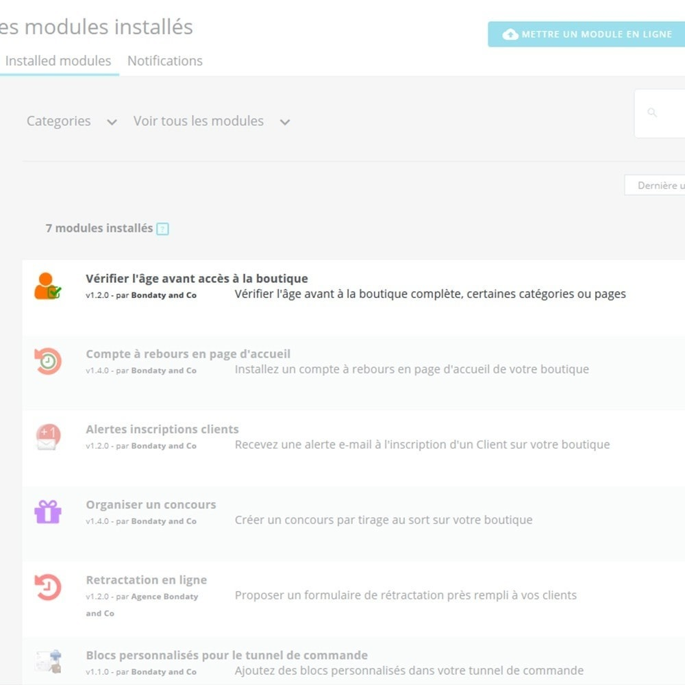 module - Sécurité & Accès - Vérification de l'âge avant accès boutique - 3
