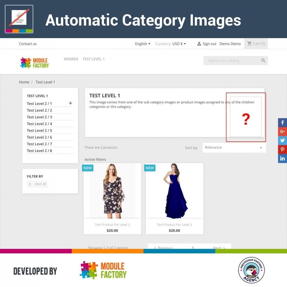 module - Productos en la página de inicio - Automatic Category Images - 1
