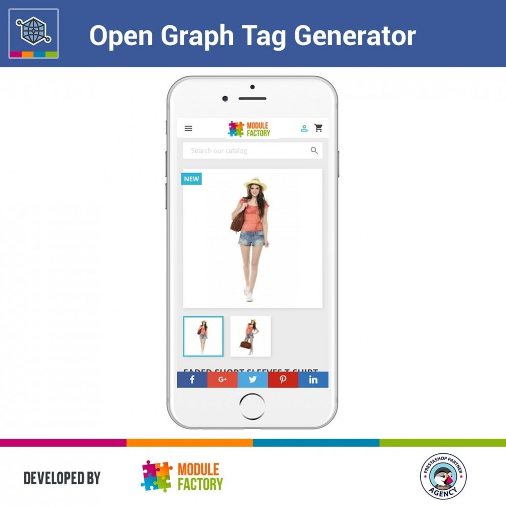 module - SEO (référencement naturel) - Automatic Open Graph Tag Generator + Share Buttons - 3