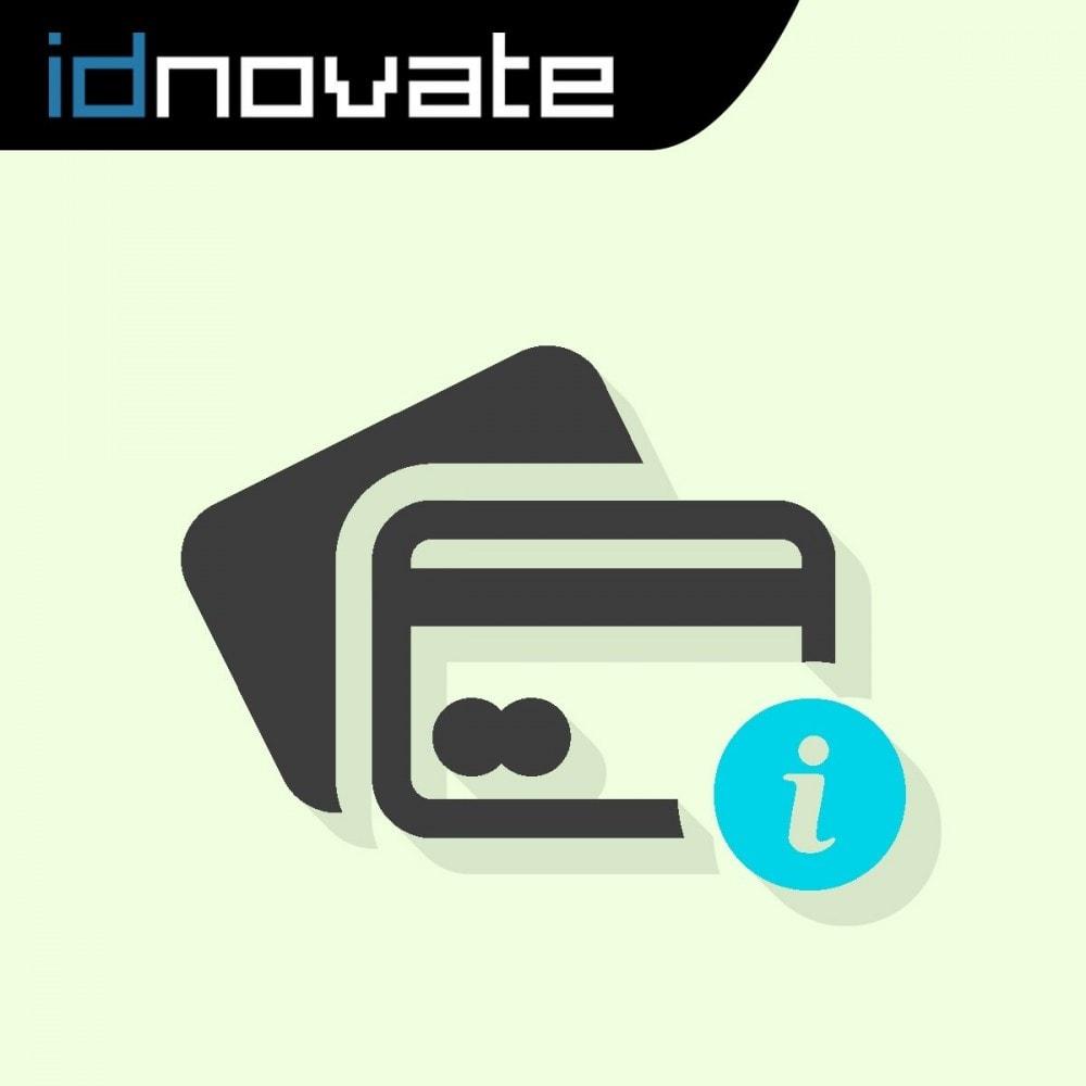 module - Pago con Tarjeta o Carteras digitales - Texto en el proceso de compra (VISA VE 65/16) - 1