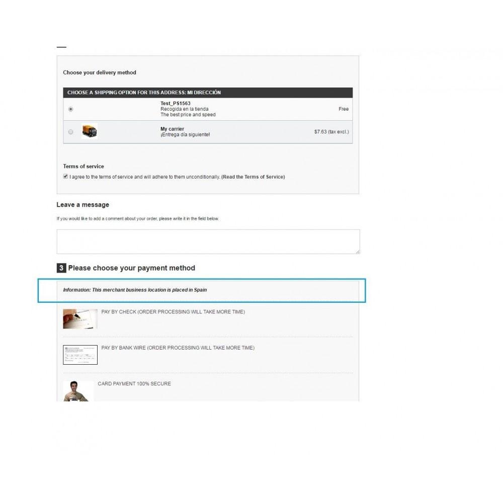 module - Pago con Tarjeta o Carteras digitales - Texto en el proceso de compra (VISA VE 65/16) - 6