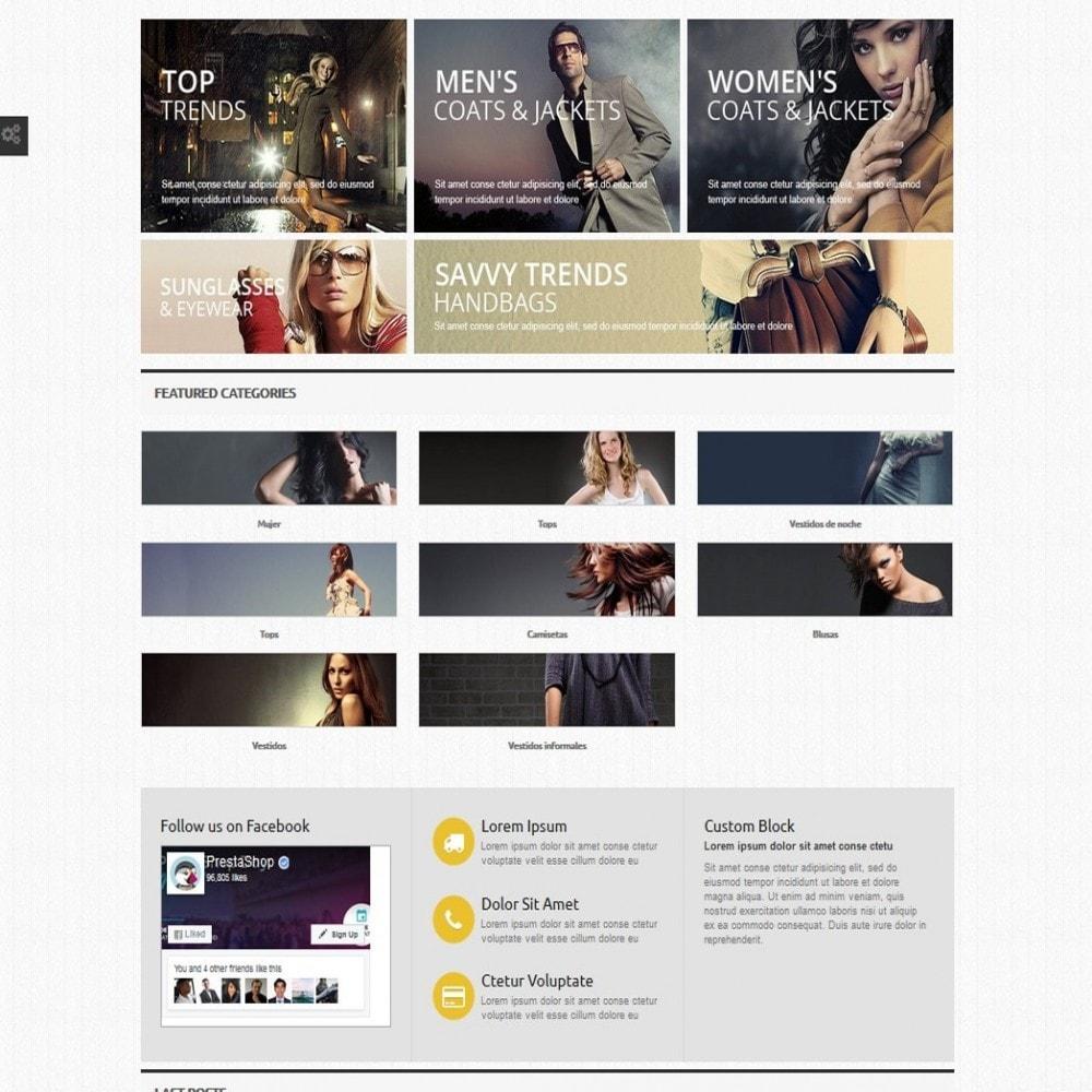 module - Producten op de homepagina - Home Categories - 5