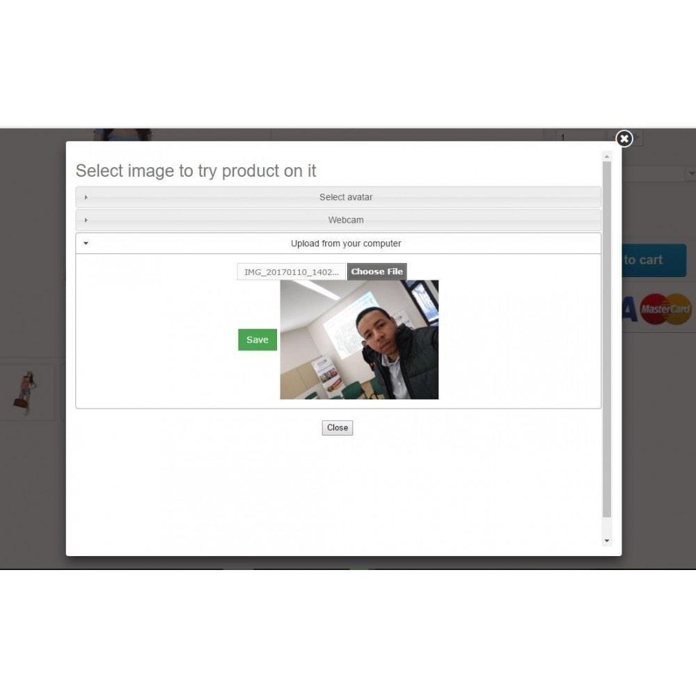 module - Visuels des produits - Essayer le produit sur votre photo - 3