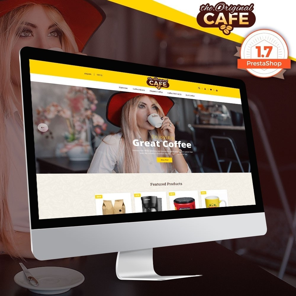 theme - Alimentation & Restauration - Food and Restaurant Store - 1