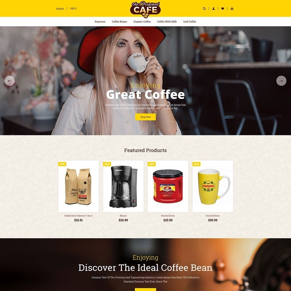 theme - Alimentation & Restauration - Food and Restaurant Store - 2
