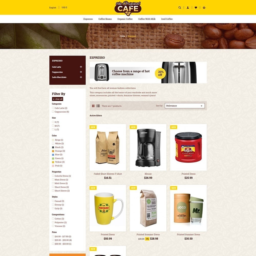 theme - Alimentation & Restauration - Food and Restaurant Store - 3
