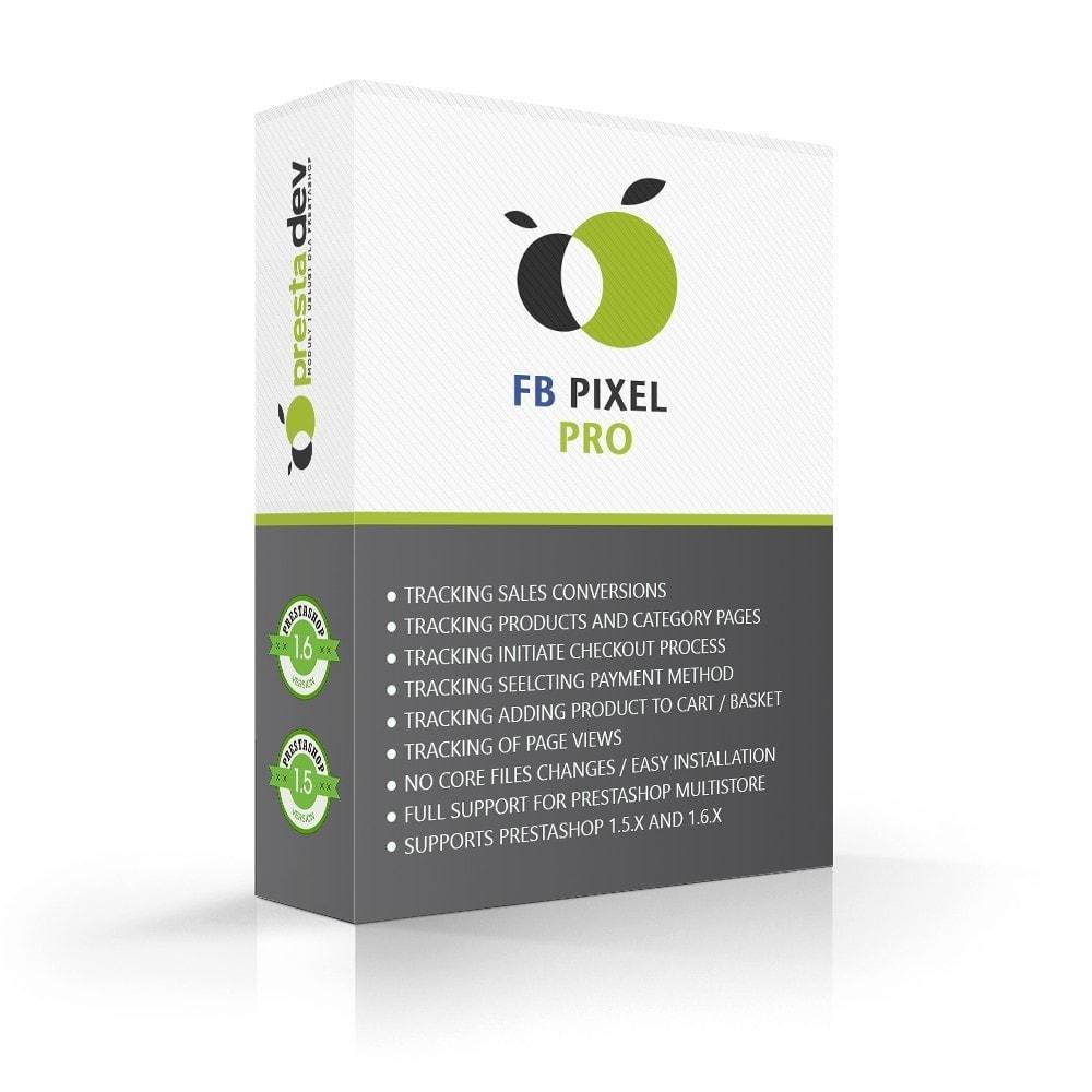 module - Analytics & Statistiche - Pixel Tracking Pro & Custom Audiences - 1