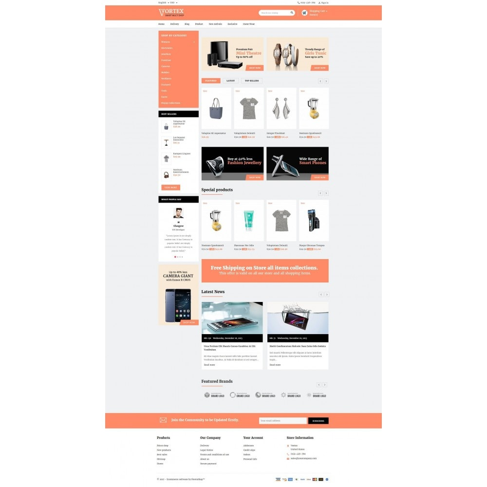 theme - Fashion & Shoes - Vortex Smart Multishop - 2