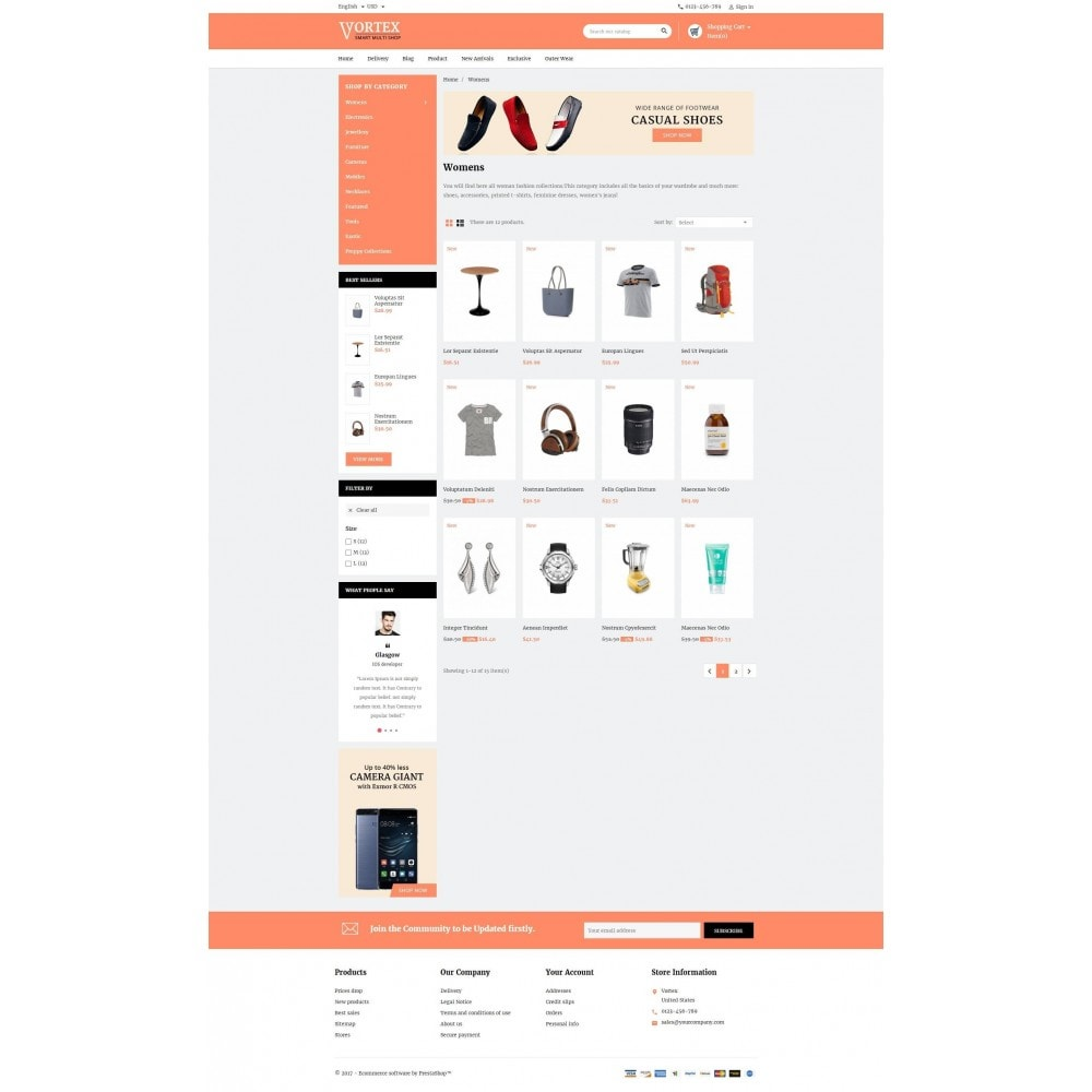 theme - Fashion & Shoes - Vortex Smart Multishop - 3