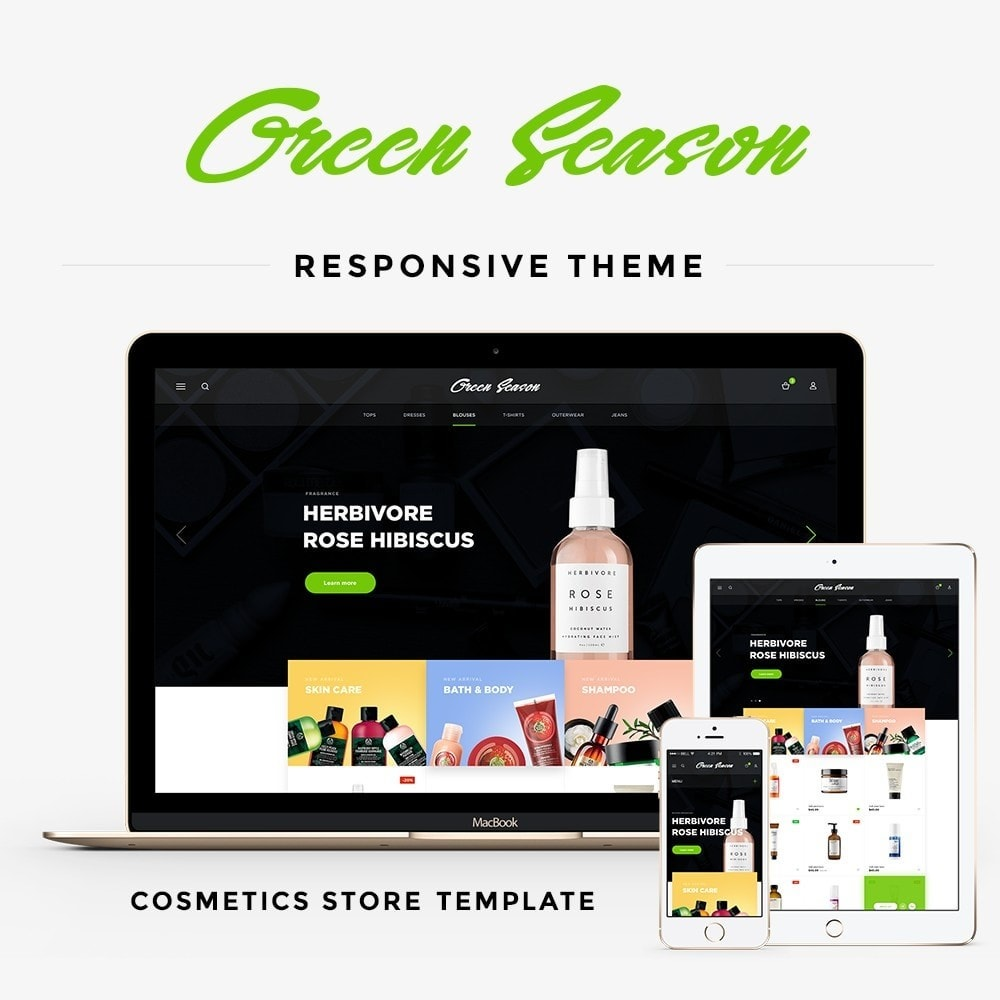 theme - Gesundheit & Schönheit - Green Season Cosmetics - 1