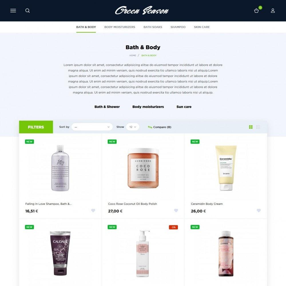 theme - Здоровье и красота - Green Season Cosmetics - 4