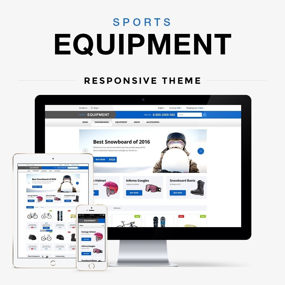 theme - Sports, Activities & Travel - Sports Equipment - 1