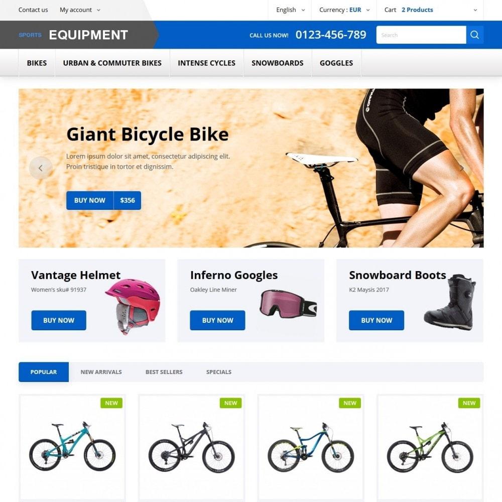 theme - Desporto, Actividades & Viagens - Sports Equipment - 2