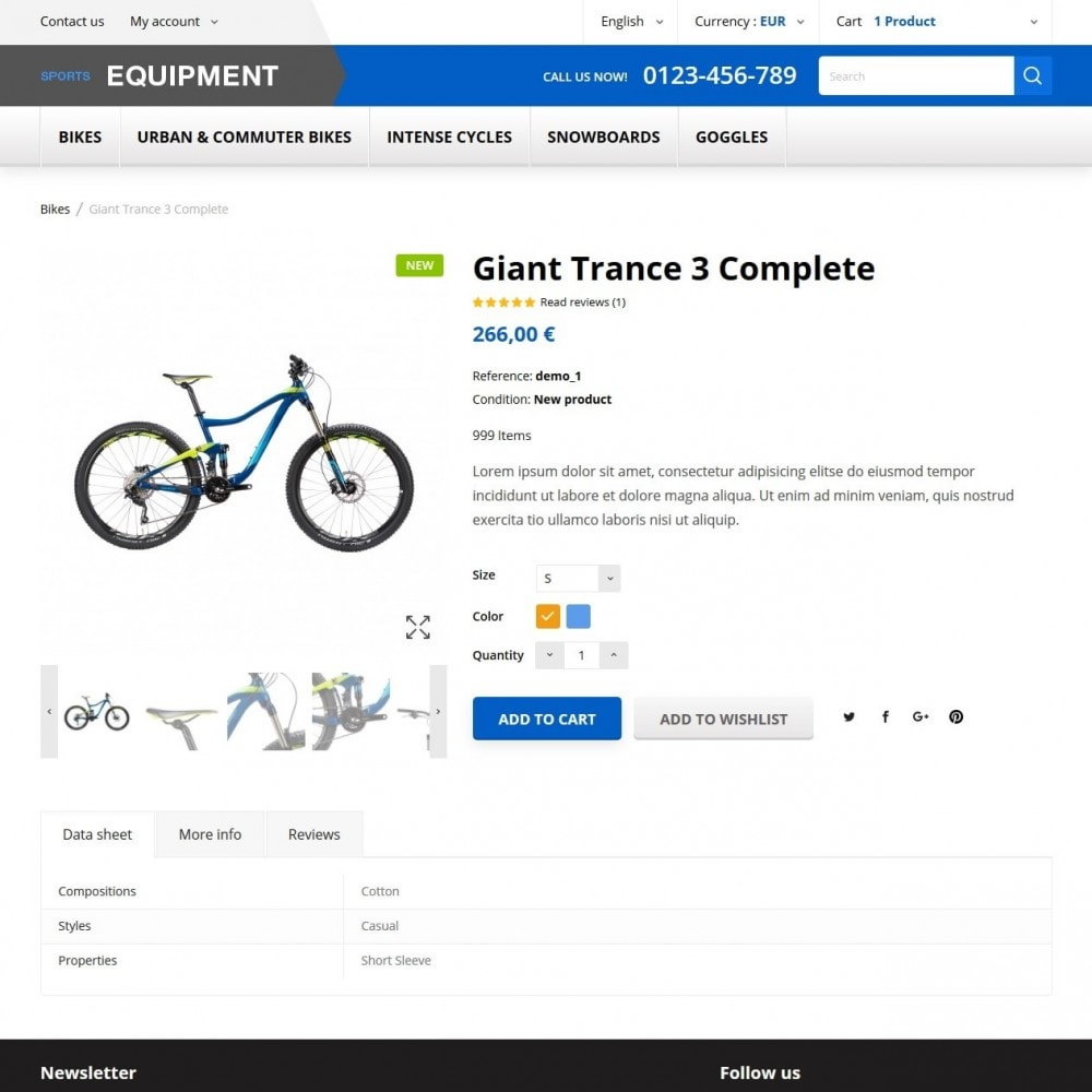 theme - Desporto, Actividades & Viagens - Sports Equipment - 6