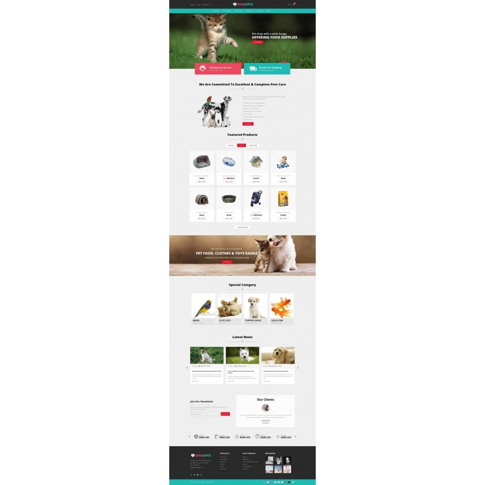 theme - Animaux - Pawpets - Animals Store - 2