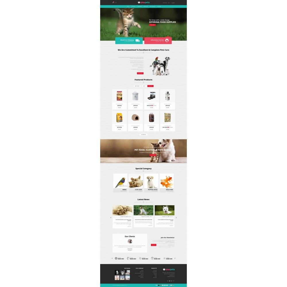 theme - Animaux - Pawpets - Animals Store - 6