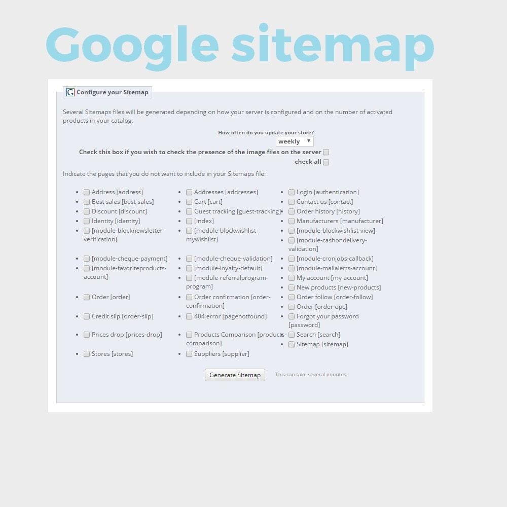 module - SEO (Indicizzazione naturale) - Google sitemap - 1