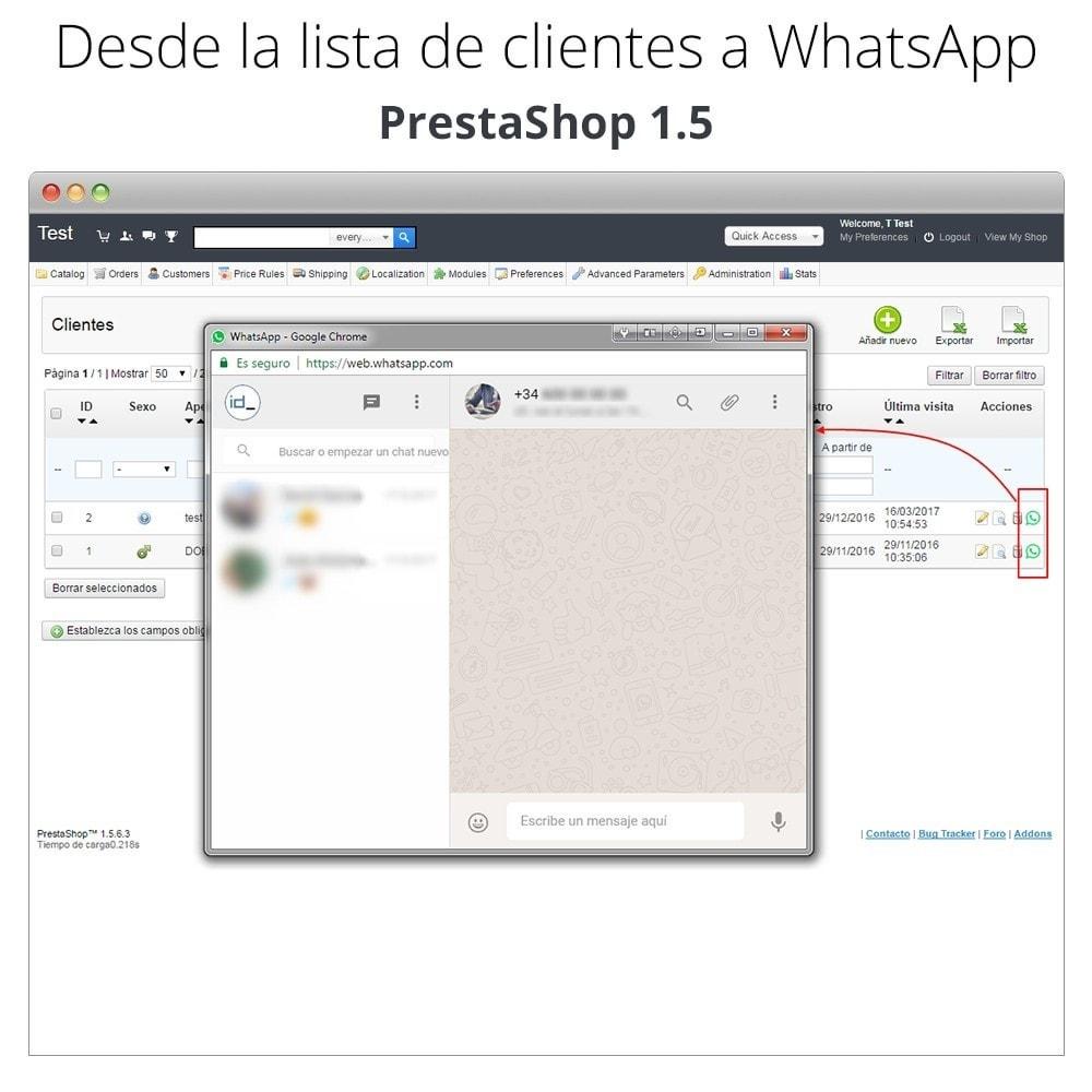 module - Asistencia & Chat online - WhatsApp - Chat con clientes - WhatsApp para Negocios - 9