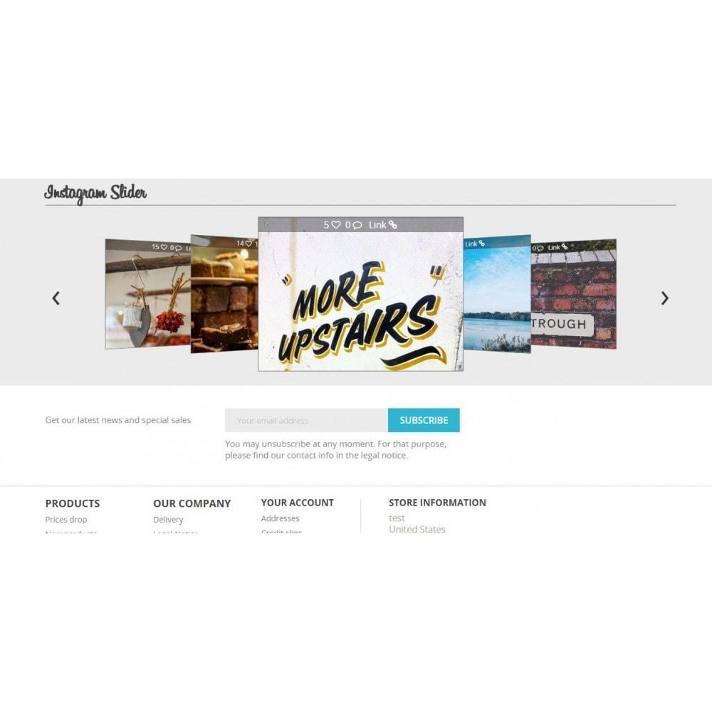 module - Widgets sozialer Netzwerke - Social 3d - 4
