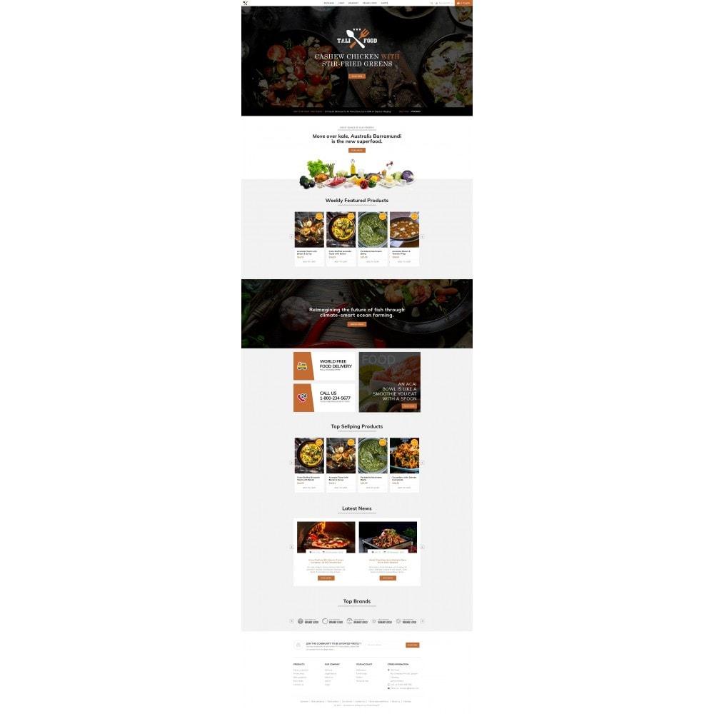 theme - Cibo & Ristorazione - Tali Food Store - 2