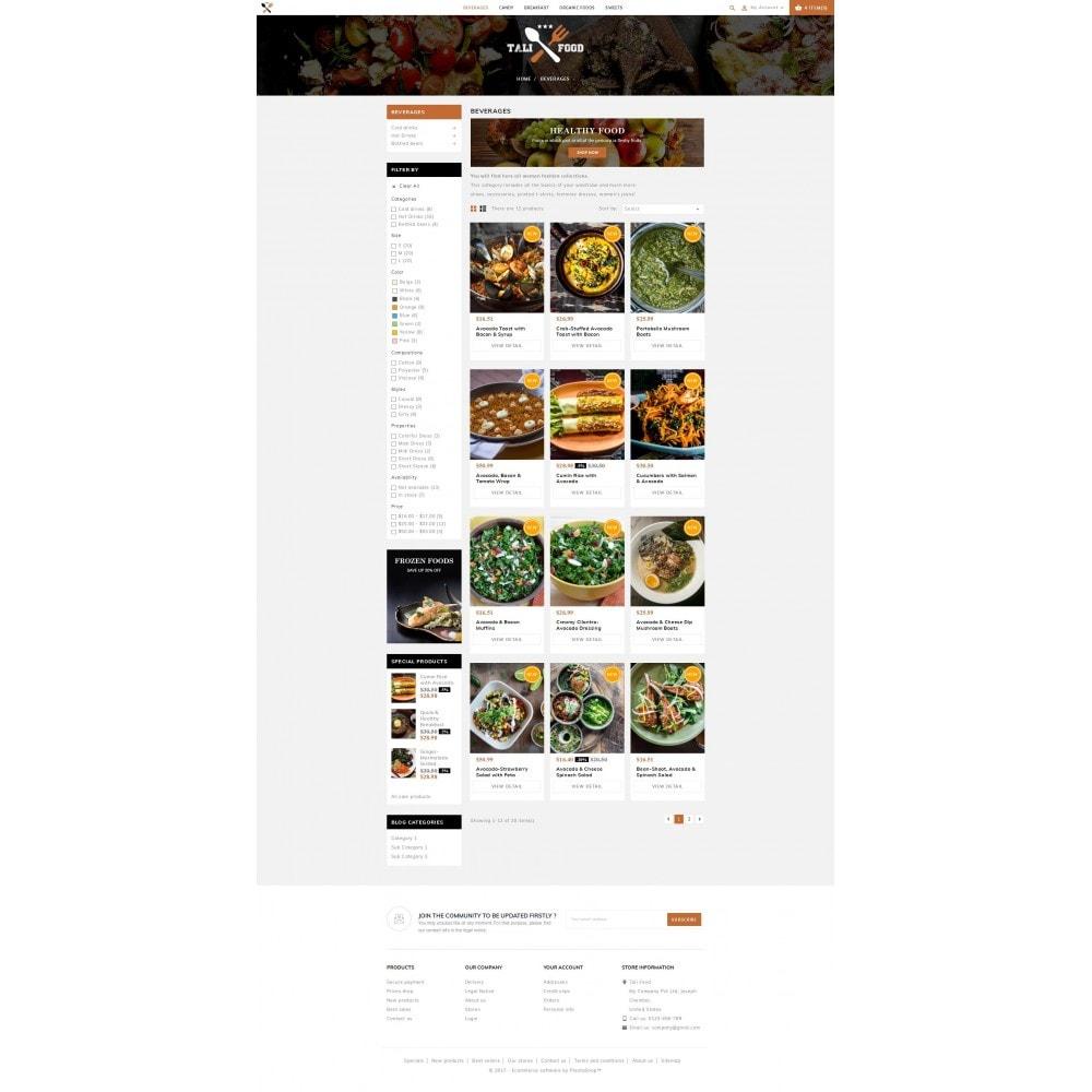 theme - Cibo & Ristorazione - Tali Food Store - 3