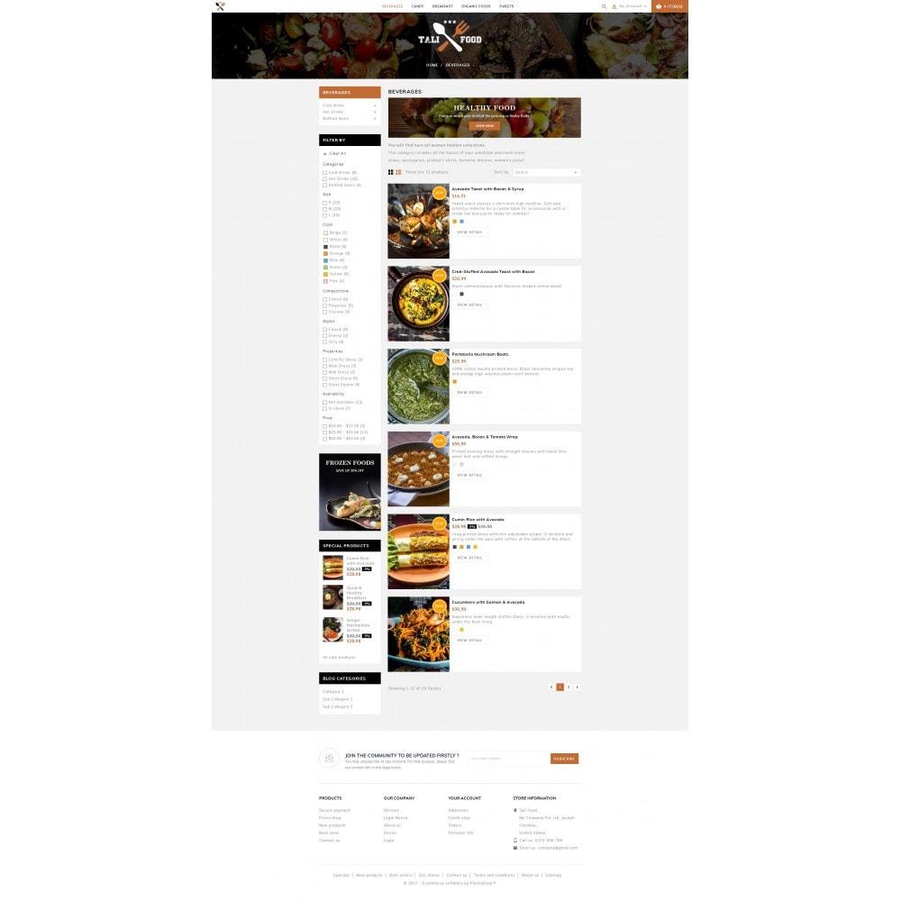 theme - Cibo & Ristorazione - Tali Food Store - 4
