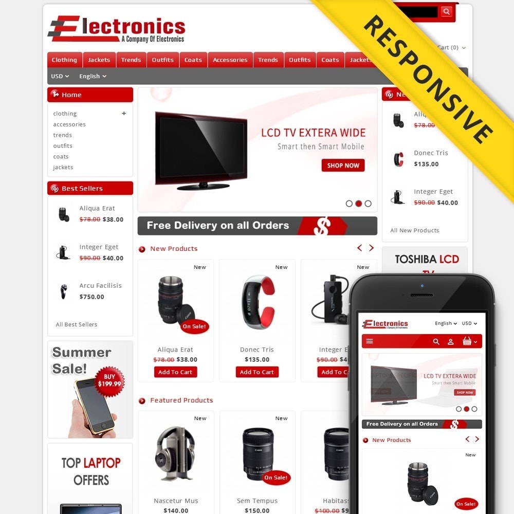 theme - Electrónica e High Tech - Electronics - Multipurpose Store - 1
