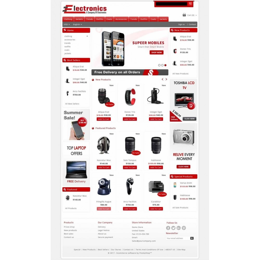 theme - Electrónica e High Tech - Electronics - Multipurpose Store - 2