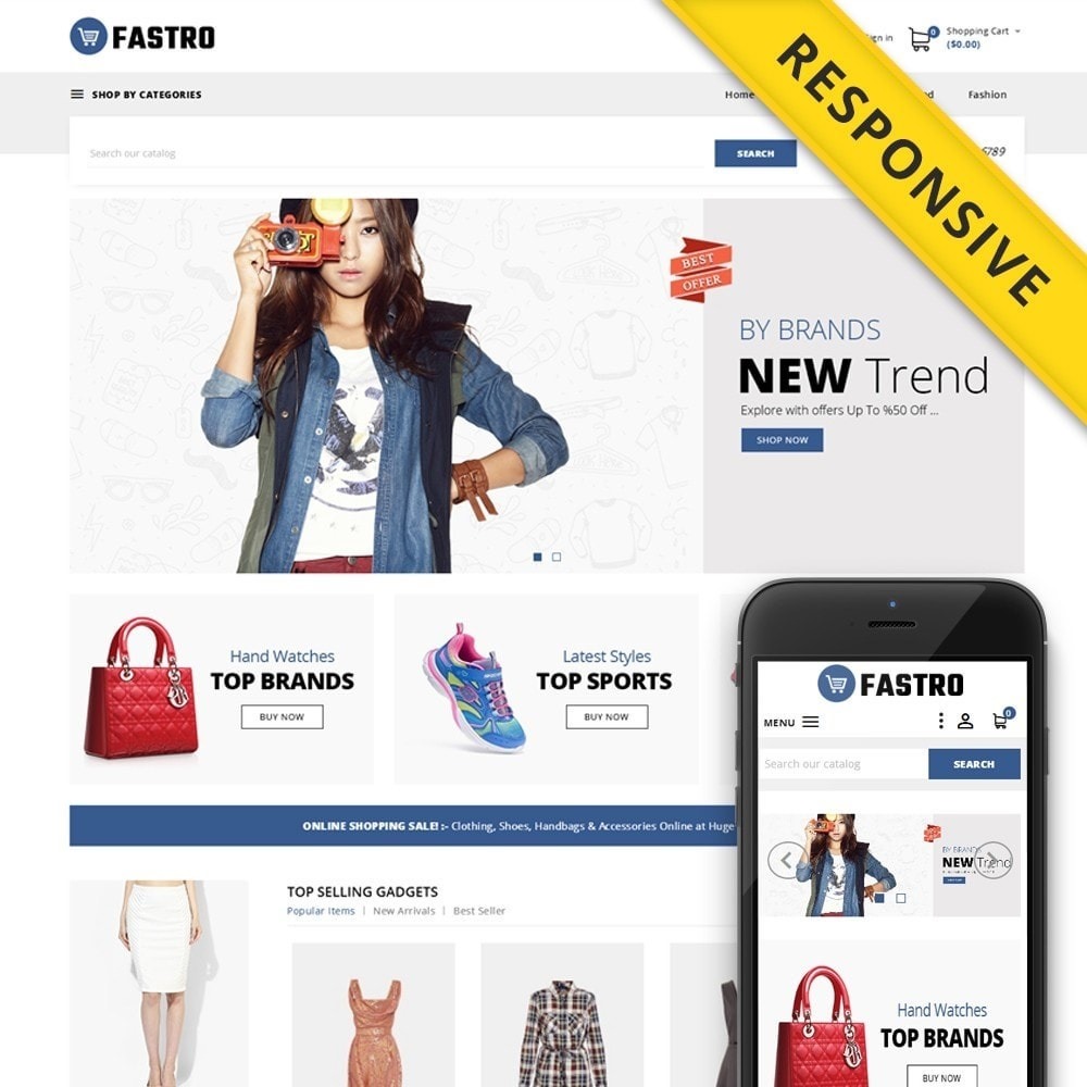 theme - Mode & Chaussures - Fastro - Apparel Store - 1