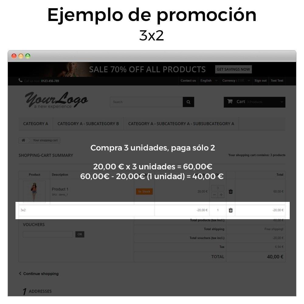 module - Promociones y Regalos - Promociones y descuentos - (3x2, descuentos, ofertas) - 5