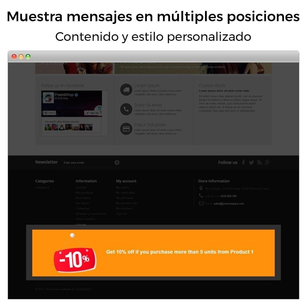module - Promociones y Regalos - Promociones y descuentos (3x2, rebajas, ofertas, packs) - 13