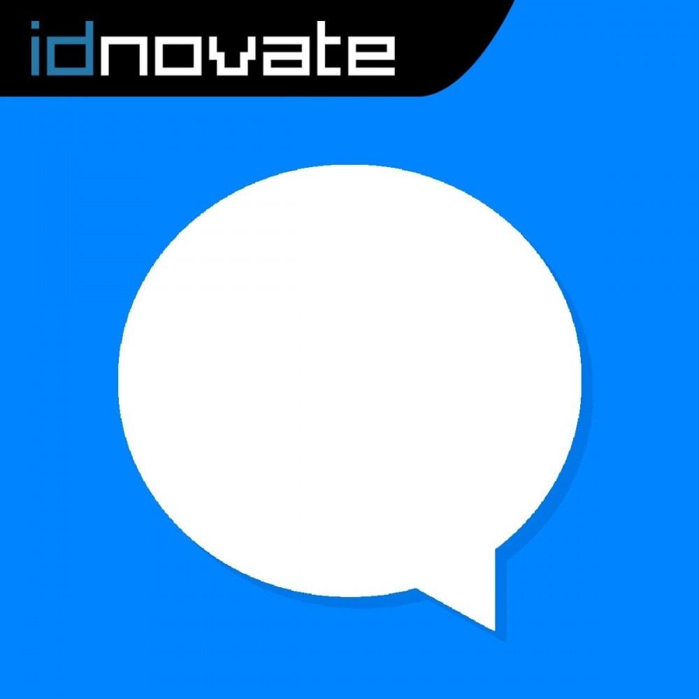 module - Asistencia & Chat online - Messenger Chat en vivo - para red social - 1