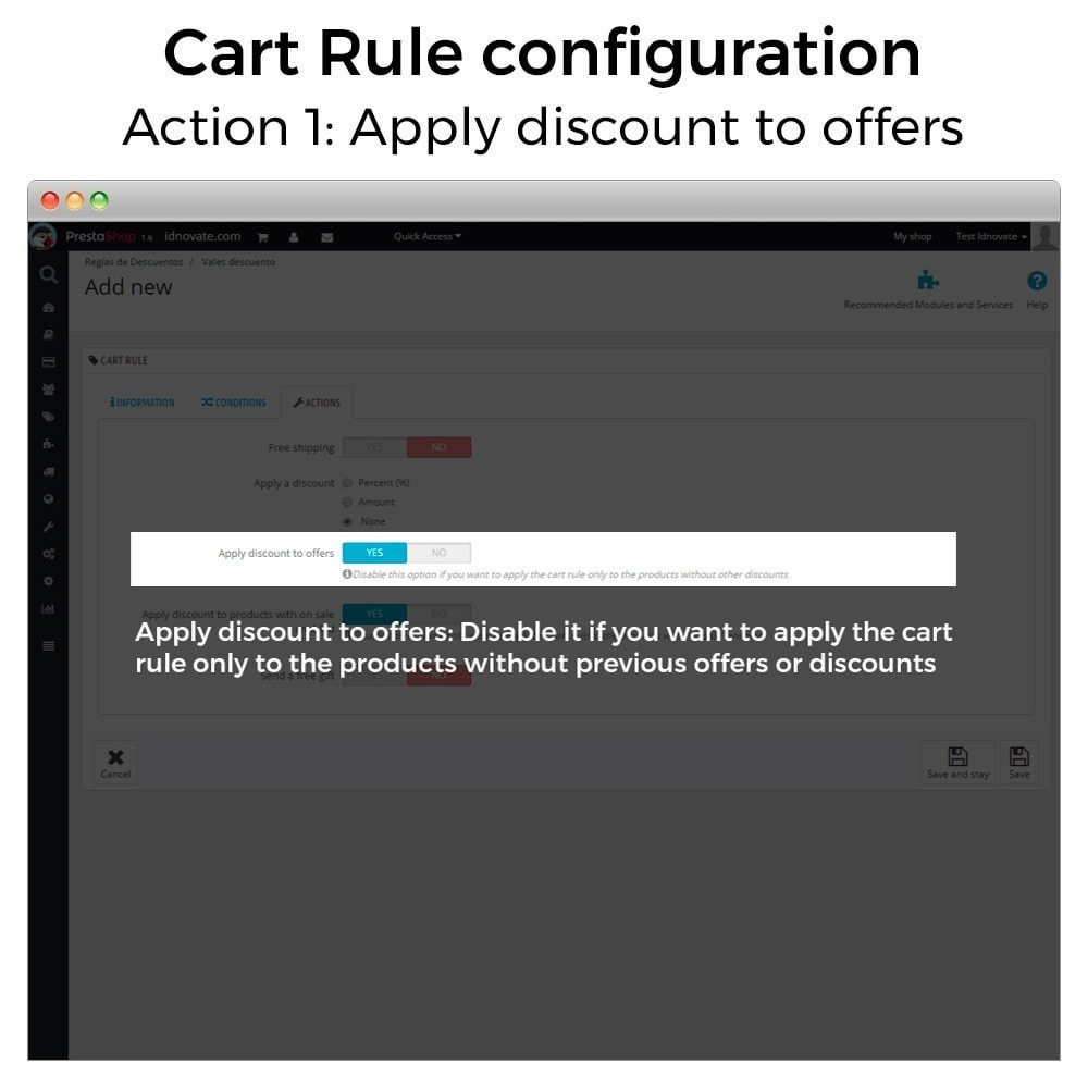 module - Promotion & Geschenke - Conditional Cart Rules (without offers, on sale...) - 3
