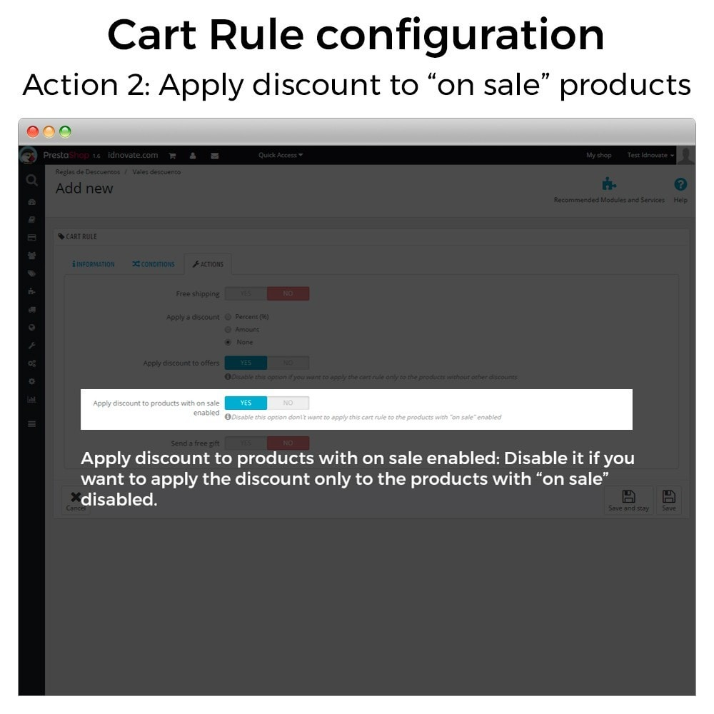 module - Promotion & Geschenke - Conditional Cart Rules (without offers, on sale...) - 4