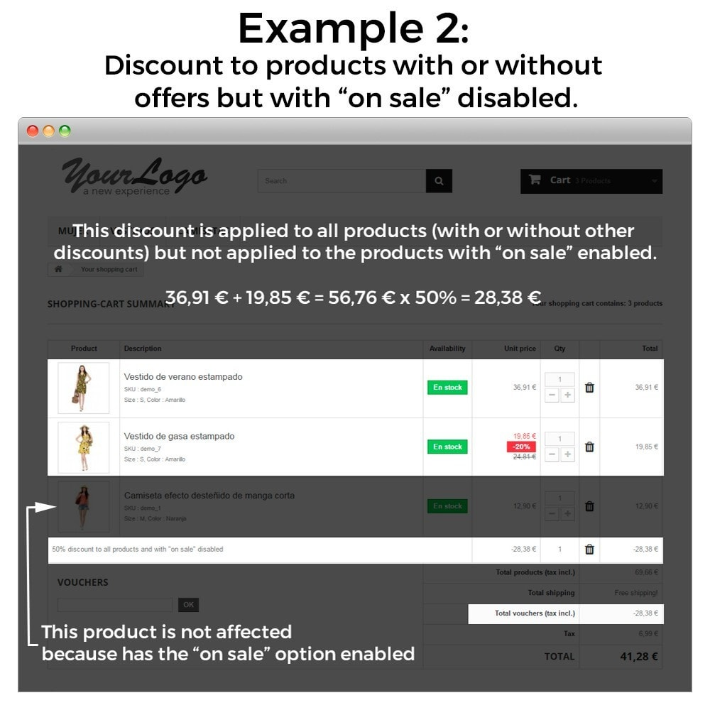 module - Promotion & Geschenke - Conditional Cart Rules (without offers, on sale...) - 9