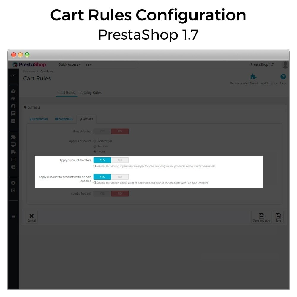 module - Promotion & Geschenke - Conditional Cart Rules (without offers, on sale...) - 10