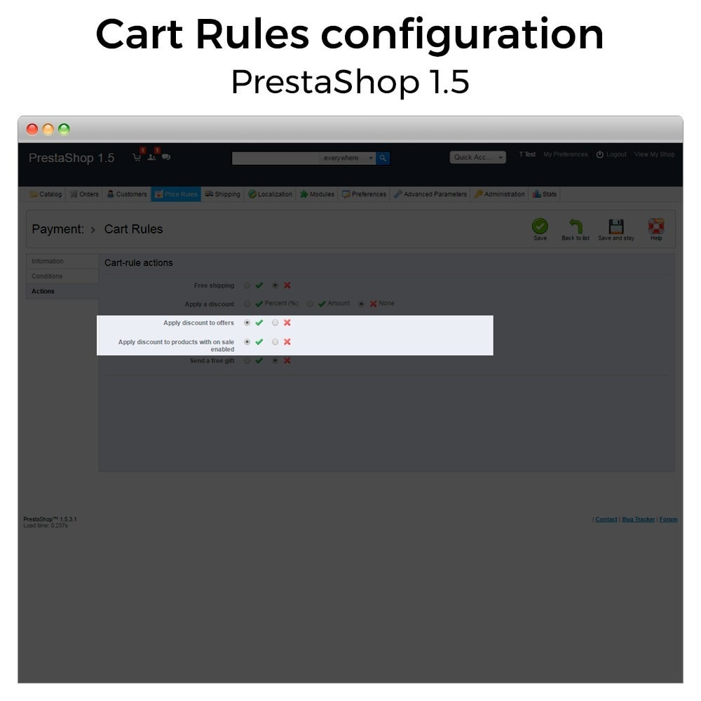 module - Promotion & Geschenke - Conditional Cart Rules (without offers, on sale...) - 11