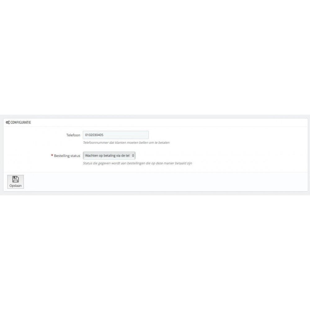 module - Andere betaalmethodes - Betaal met telefoon - 3