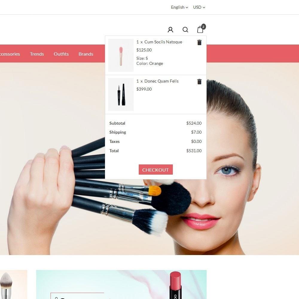 theme - Santé & Beauté - Glossy Cosmetics Store - 6
