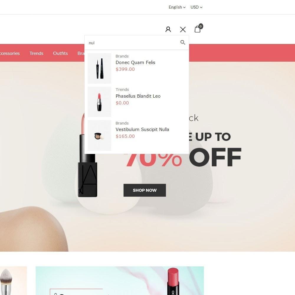 theme - Santé & Beauté - Glossy Cosmetics Store - 7
