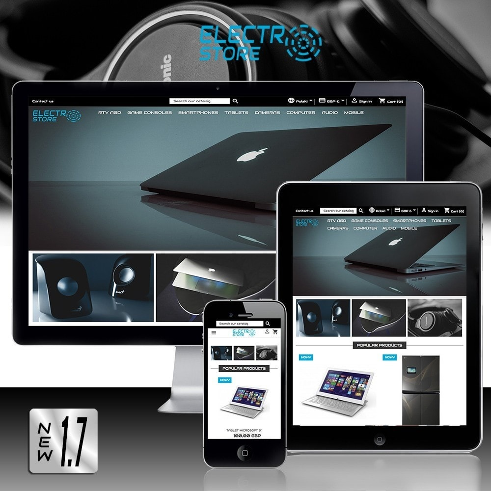 theme - Elektronica & High Tech - Electro Store - 1